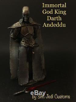 Star Wars Custom Immortal God King Darth Andeddu Old Republic Sith Jedi Customs