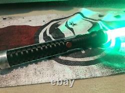 Star Wars Custom Lightsaber Saberforge Guardian Qui Gon Jinn Proffie 2.2 Pixel