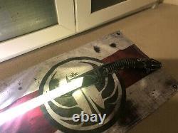 Star Wars Custom Lightsaber Saberforge The Bane Proffie 2.2 Pixel