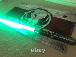 Star Wars Custom Lightsaber Saberforge Weathering Heat Emitter Proffie 2.2 Pixel