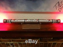 Star Wars Custom Machined Darth Maul FX Lightsaber With Removable Blade +Sound
