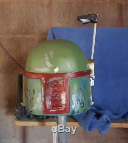 Star Wars Custom Made Boba Fett Helmet