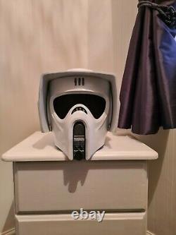 Star Wars Custom Made Scout Trooper (Biker) Helmet