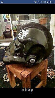Star Wars Custom Made Tie Fighter Pilot Helmet