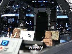 Star Wars Custom Millennium Falcon Ship Cockpit Diorama Playset Display Prop Art