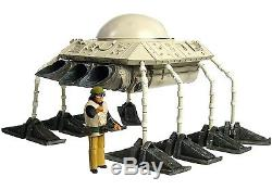 Star Wars Custom Mos Eisley Void Spider TX-3 Air Taxi Shuttle Landspeeder &Pilot