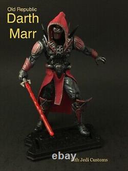 Star Wars Custom Old Republic Darth Marr 3.75 Sith Jedi Custom