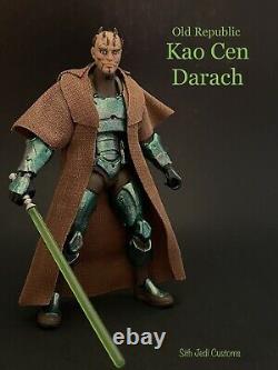 Star Wars Custom Old Republic Kao Cen Darach 3.75 Sith Jedi Custom