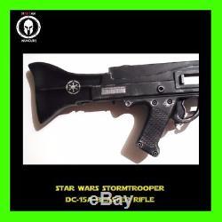 Star Wars Custom Painted Stormtrooper DC-15a Blaster Rifle Gun Cosplay Gun LARP