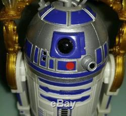 Star Wars Custom Quadcopter Z74 R2D2 real flying Slave Leia RTF drone AirShark