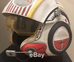 Star Wars Custom Replica Jess Pava X-wing pilot Costume helmet Movie Prop