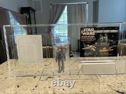 Star Wars Custom Rocket Firing Boba Fett Mail Away Beautiful Acrylic Display
