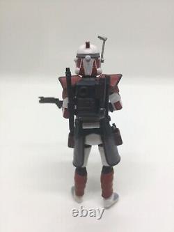 Star Wars Custom The Clone Wars Red Flame Arc Trooper Scorcher TVC Figure
