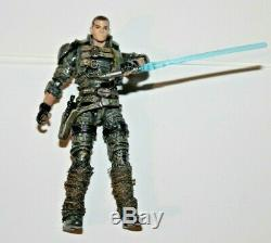 Star Wars Custom The Force Unleashed Starkiller Corellian Rare Action Figure