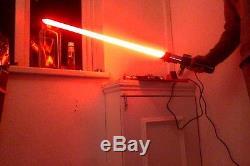 Star Wars Custom Vader Lightsaber FX (NANO BISCOTTE) NOT SABERFORGE