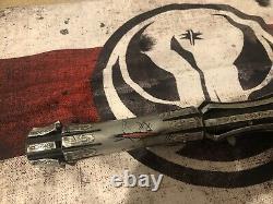 Star Wars Custom Vaders vault wrath Lightsaber with acid etching proffie pixel