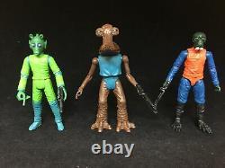 Star Wars Custom Vintage Collection Retro Greedo Hammerhead Walrusman 3.75