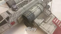 Star Wars Custom X-Wing Fighter Hero series Large battle weathered! Prop