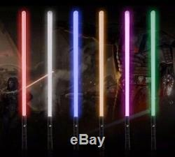 Star Wars Custom dueling lightsaber Choice Of color! FX, US, SF, Ep 8