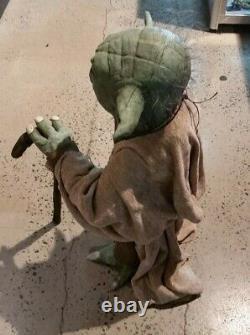 Star Wars Custom made life sized YODA 65cm tall