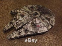 Star Wars Custom painted Millenium Falcon Hero's Series 60cm long