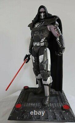Star Wars DARTH MALGUS REBORN EX 1/4 Custom statue Rare Sold Out + Sideshow Book
