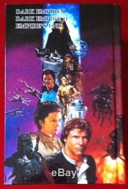 Star Wars Dark Empire Trilogy Custom Bound HC Signed & Sketched By Dave Dorman