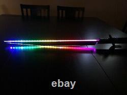Star Wars Darksaber Lightsaber Programmable LED Mandalorian Sword