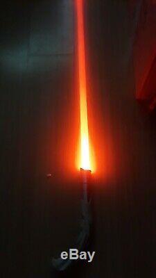 Star Wars Darth Bane custom curved lightsaber