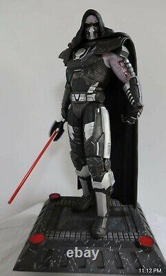 Star Wars Darth Malgus premium format statue 1/4 scale custom NIB Rare Sold out