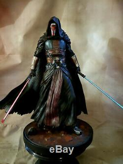 Star Wars Darth Revan Exclusive 1/4 Premium Format Statue Custom Sideshow Rare
