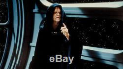 Star Wars Darth Sidious Cosplay Costume Outfit Black