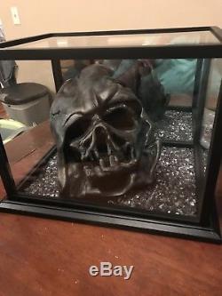 Star Wars Darth Vader Custom 3D Printed 13 11 MELTED Scale Helmet Wow Statue