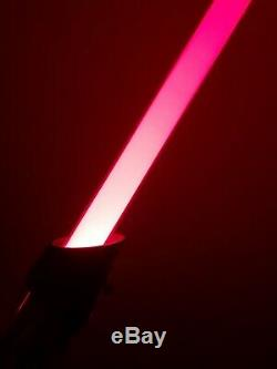 Star Wars Darth Vader Galaxy's Edge Legacy Disney World Lightsaber Hilt Custom
