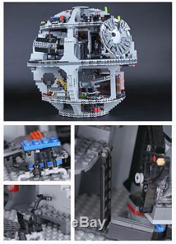 Star Wars Death Star 10188 Custom Lego Compatible 3804 Pcs Fedex Dhl