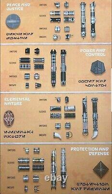 Star Wars Disney Galaxy's Edge Savi's Workshop Custom Lightsaber You Pick