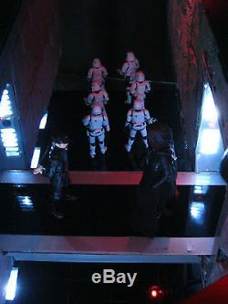 Star Wars Force Awakens Custom Starkiller Base Diorama Display Playset Prop Art