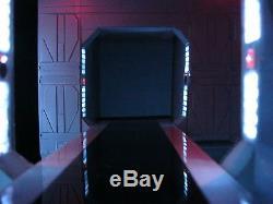 Star Wars Force Awakens Custom Starkiller Base Diorama Prop withLED & Fiber Optics