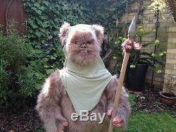 Star Wars Full Lifesize Ewok with Spear Custom made high quality ROTJ prop