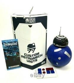 Star Wars Galaxy Edge Custom BB Unit Droid RC Remote Control Build A Droid Depot