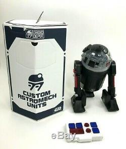 Star Wars Galaxy Edge Custom R2 Droid Clear Dome RC Remote Control Droid Depot