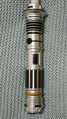 Star Wars Galaxy's Edge Custom Lightsaber Peace and Justice