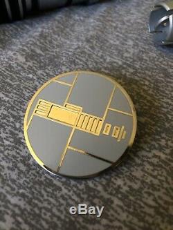 Star Wars Galaxys Edge Custom Built Lightsaber Savis Shop IN HAND + BONUS