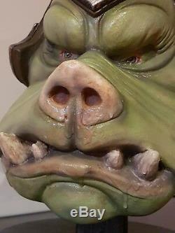Star Wars Gamorrean Guard Lifesize bust custom 11 prop not sideshow