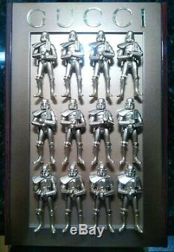 Star Wars Gucci Ghost Gold Stormtrooper Army Custom Bootleg Art Display One Off