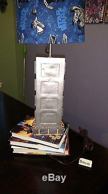 Star Wars Han Solo in Carbonite Books Falcon X-Wing Custom Pull Chain Table Lamp