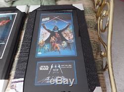 Star Wars James Earl Jones autographed custom 20x33 Framed display JSA Cert