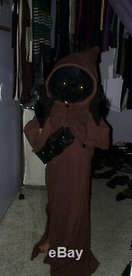 Star Wars Jawa cosplay custom Halloween costume
