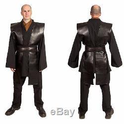 Star Wars Jedi Knight Custom Cosplay Anakin Skywalker Sith Halloween Costume men