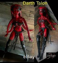 Star Wars Legacy DARTH TALON 1/6 OOAK Custom Action Figure Doll Volks Momoko